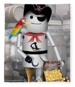 Robo-x9 The Pirate Fleece Blanket