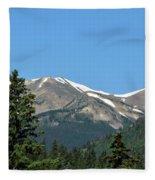Rocky Mountains Fleece Blanket