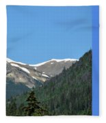 Rocky Mountains 2 Fleece Blanket
