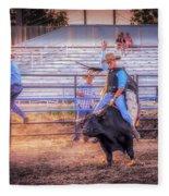 Rodeo Rider Fleece Blanket