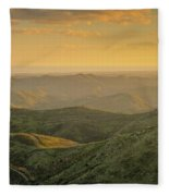 Rolling Mountain Fleece Blanket