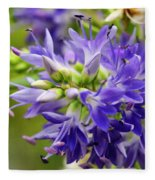Royal Botanical Garden Of Madrid Fleece Blanket