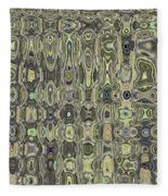 Saguaro Skin Abstract Fleece Blanket