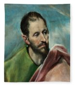 Saint James The Younger Fleece Blanket