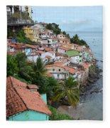 Salvador Da Bahia - Brazil Fleece Blanket