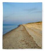 Sandy Neck Beach Fleece Blanket