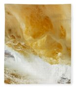Sandy Wave Fleece Blanket