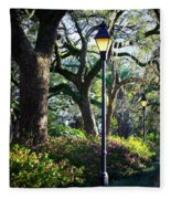 Savannah Spring Perspective Fleece Blanket