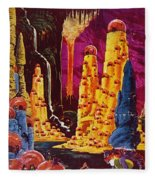 Science Fiction Magazine Fleece Blanket