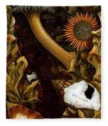 Sea Anemones, 1860 Fleece Blanket
