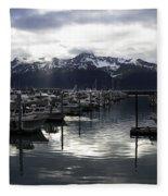 Seward Harbor Fleece Blanket