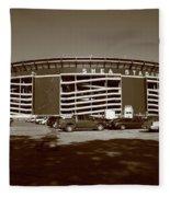 Shea Stadium - New York Mets Fleece Blanket