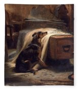 Shepherds Chief Mourner Fleece Blanket