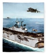 Ship Fleece Blanket