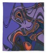 Shirley Maclaine's Grasshopper Phase Fleece Blanket