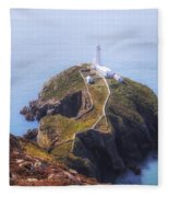 South Stack - Wales Fleece Blanket