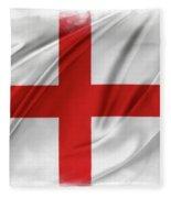 St George's Cross Fleece Blanket