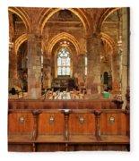 St Giles' Cathedral, Edinburgh Fleece Blanket