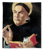 St. Thomas Aquinas Fleece Blanket