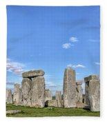 Stonehenge - England Fleece Blanket