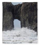 Storm Rock Fleece Blanket