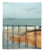 Stormy Seas  Fleece Blanket