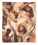 Study For The Martyrdom Of St Symphorien 1834  Fleece Blanket