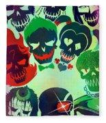 Suicide Squad 2016 Fleece Blanket