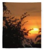 Sun View Fleece Blanket
