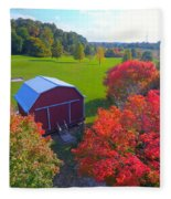 Sunset Hill Farms Indiana  Fleece Blanket