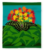 Tailed Jay Fleece Blanket