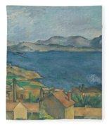 The Bay Of Marseilles Fleece Blanket