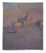 The Church Of San Giorgio Maggiore, Venice Fleece Blanket