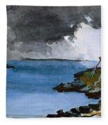 The Coming Storm Fleece Blanket