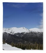 The Continental Divide Fleece Blanket
