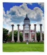 The Francis Quadrangle - University Of Missouri Fleece Blanket