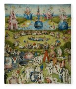 The Garden Of Earthly Delights Fleece Blanket