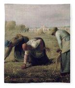 The Gleaners Fleece Blanket