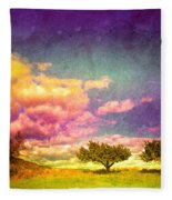 The Kvr Collection Fleece Blanket