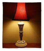 The Lamp Fleece Blanket