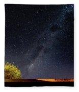 The Milky Way Fleece Blanket