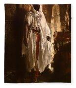 The Moorish Chief Fleece Blanket