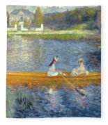 The Skiff Fleece Blanket