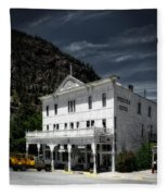 The Western Hotel Fleece Blanket
