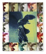 The Winged Victory - Paris - Louvre Fleece Blanket