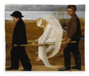 The Wounded Angel Fleece Blanket