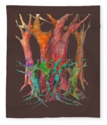 They Came To Me At Dawn Fleece Blanket