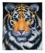 Tiger 1 Fleece Blanket
