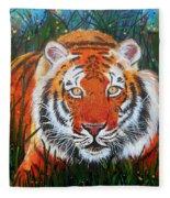 Tiger- Large Work Fleece Blanket