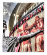 Tony Adams Statue Emirates Stadium Fleece Blanket